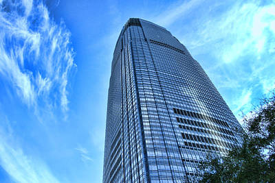Photograph - Goldman Sachs Tower # 2 by Allen Beatty