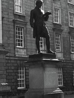 Photograph - Goldsmith At Tcd,dublin by Roger Cummiskey