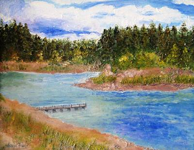 Painting - Goldwater Lake by Jamie Frier