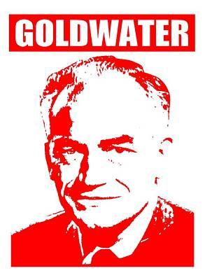 Senator Mixed Media - Goldwater by Otis Porritt