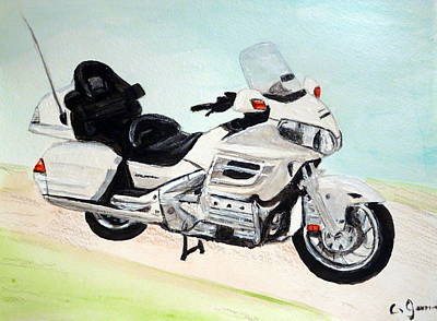 Painting - Goldwing by Cathy Jourdan