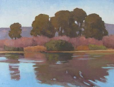 Painting - Goleta Beach Slough by Jennifer Boswell