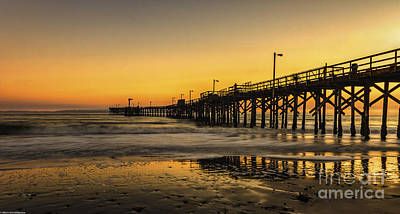 Goleta Sunset Art Print