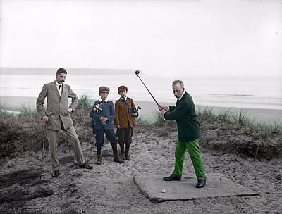 Golf 1907 Dream Art Print