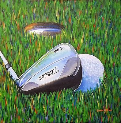 Painting - Golf 2 by Sandra Lett