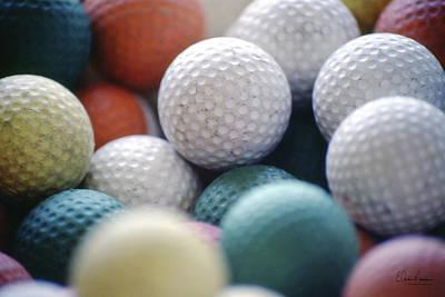 Photograph - Golf Balls by Gordon Mooneyhan