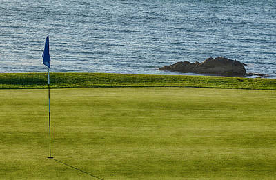 Photograph - Golf By The Sea 2 by Leah Palmer