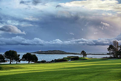Photograph - Golf By The Sea by Keith Boone