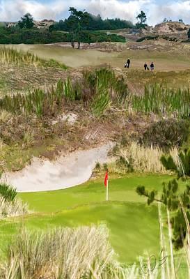 Digital Art - Golf Challenge  by Dale Stillman