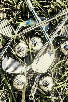 Reflective Photograph - Golf Chrome by Jorgo Photography - Wall Art Gallery