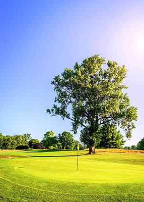 Photograph - Golf Course by Alexey Stiop