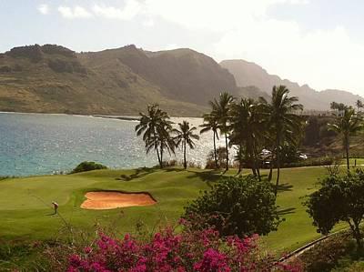 Photograph - Golf Course by Alohi Fujimoto