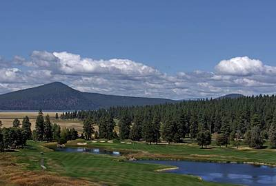 Photograph - Golf Course At The Running Y Ranch Resort by Patricia Strand