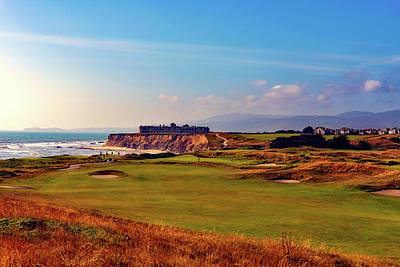 Photograph - Golf Course On Half Moon Bay by L O C
