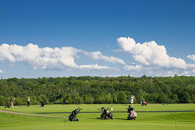 Photograph - Golf Course Schoenbuch In Germany by Matthias Hauser