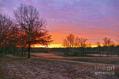 Photograph - Golf Course Sunrise by Catherine Sherman