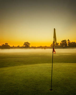 Photograph - Golf Dreams by Chris Bordeleau