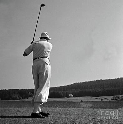 Golf Art Print by German School