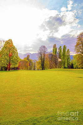 Photograph - Golf Green by Mats Silvan