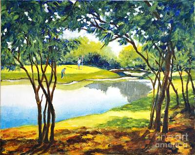 Painting - Golf Haven by Betty M M Wong