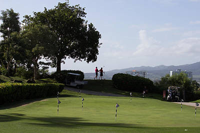 Photograph - Golf In Paradise by Roberta Byram
