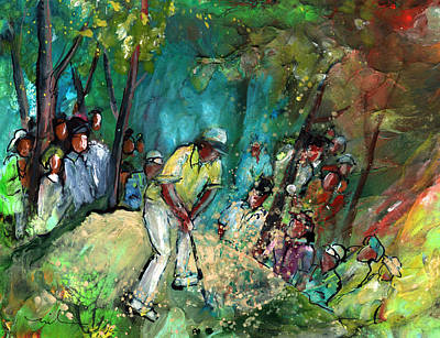 Painting - Golf Madness 03 by Miki De Goodaboom