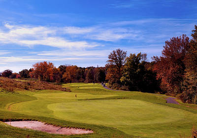 Photograph - Golf On An Autumn Weekend by L O C