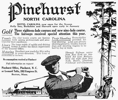 Golf: Pinehurst, 1916 Art Print by Granger