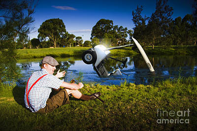 Art Print featuring the photograph Golf Problem by Jorgo Photography - Wall Art Gallery