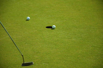 Photograph - Golf - The Longest Inch by Chris Flees
