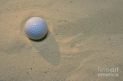 Photograph - Golf-the Sand Trap by Paul Ward