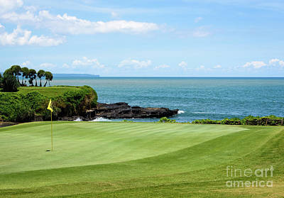 Photograph - Golf View by Sandy Molinaro