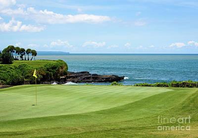 Photograph - Golf View by Sandy Molinaro