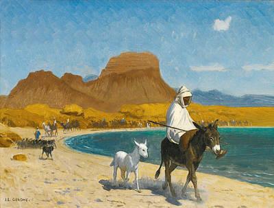 Jean-leon Gerome Painting - Golfe D'akaba by Jean-Leon Gerome