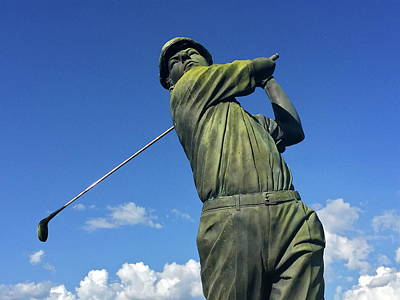 Photograph - Golfer by Denise Mazzocco
