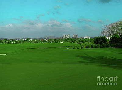 Photograph - Golfing Landscape by Camille Pascoe