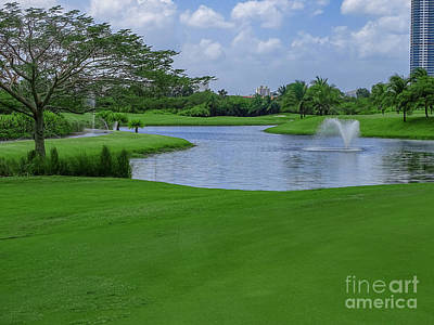 Photograph - Golfing Lanscape 2 by Camille Pascoe