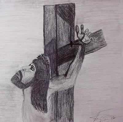 Golgotha Prince Of Peace #2 Art Print