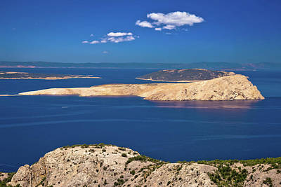 Photograph - Goli Otok Island In Velebit Channel Of Croatia by Brch Photography