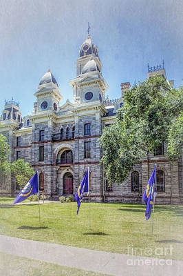Photograph - Goliad County Courthouse by Lynn Sprowl