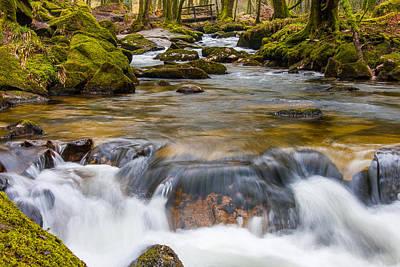 Photograph - Golitha Falls - Bodmin Moor by Paul Sharman