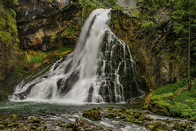 Photograph - Golling Falls by Ulrich Burkhalter