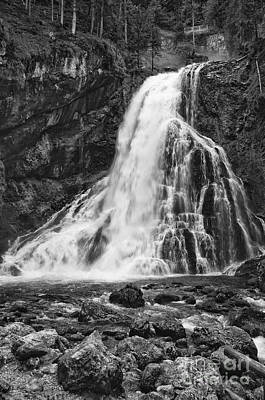 Photograph - Golling Waterfall by Alan Toepfer