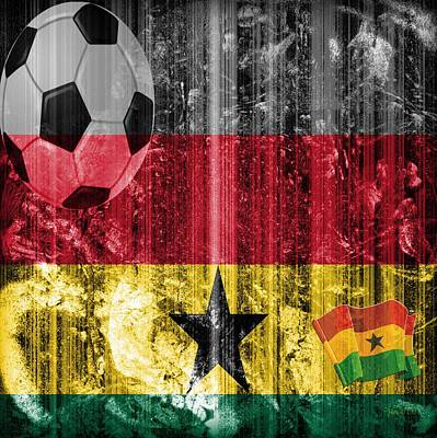 Faniart Digital Art - Gollll - Ghana by Fania Simon