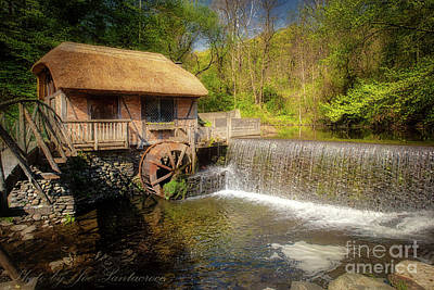 Photograph - Gomez Mill House by Joe Santacroce