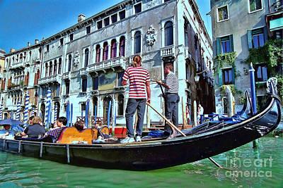Photograph - Gondola 3 by Allen Beatty