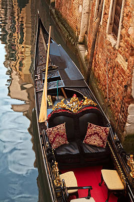 Photograph - Gondola At Rest by Kim Wilson