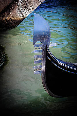 Photograph - Gondola In Color by Alexis Lee Scott