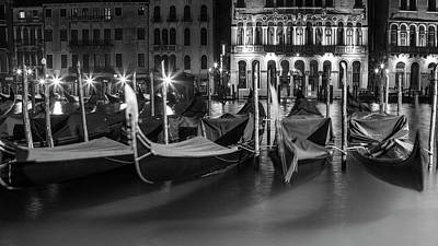 Photograph - Gondola On The Grand Canal  by John McGraw