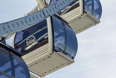 Photograph - Gondola Over The Sea by E Faithe Lester